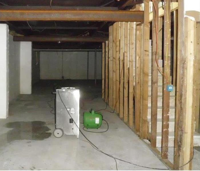 Prattville Flooding of a Basement After