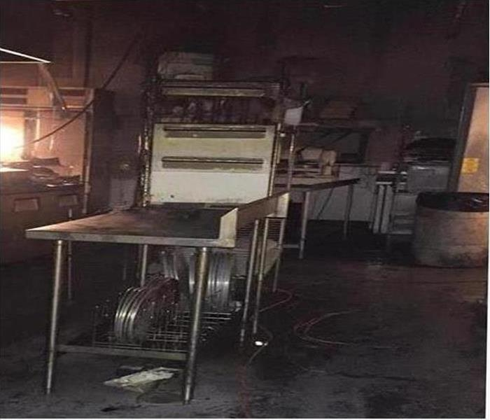Commercial Fire Damage – Prattville Restaurant  Before