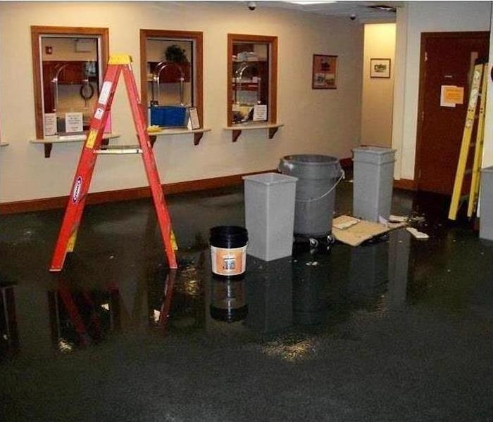 Commercial Water Damage - Prattville Before