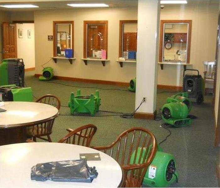 Commercial Water Damage - Prattville After