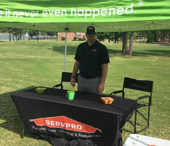 SERVPRO supports the Tallassee Chamber Golf Tournament